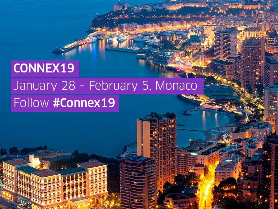 Connex19   Jan 28th-Feb 5th 2019, Monaco.
